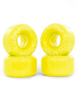 RIO ROLLER Coaster Wheel - 62x36mm/82A - Yellow
