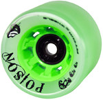 ATOM Poison Wide Wheel - 62x44mm/84A - green