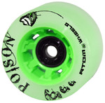ATOM Poison Slim Wheel - 62x38mm/84A - green