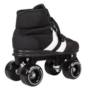 ROOKIE Retro Rollerskates Black/White V2.1