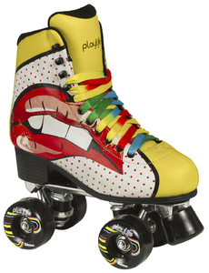 PLAYLIFE Rollerskates Pop Art Blondie