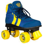 ROOKIE Retro Rollerskates Blue/Yellow V2.1