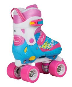 ROOKIE Rollerskates Fab Junior Blue/Pink