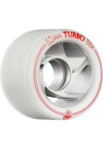 ROLLERBONES Silver Turbo Wheel - 62x38mm/88A - white