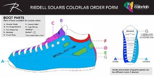 RIEDELL Solaris ColorLab Custom Color System