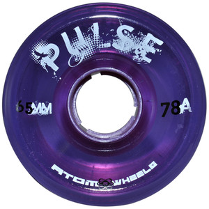 ATOM Pulse Wheel - 65x37mm/78A - purple
