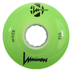 SEBA Quad Luminous Wheel - 62x38mm/85A - green
