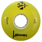 SEBA Quad Luminous Wheel - 62x38mm/85A - yellow
