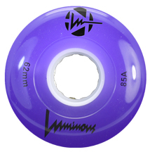 SEBA Quad Luminous Wheel - 62x38mm/85A - violet