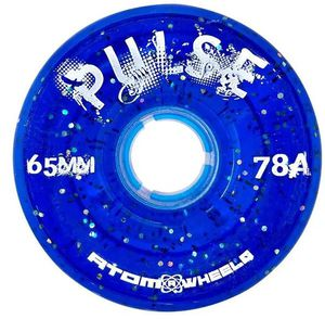 ATOM Pulse Glitter Wheel - 65x37mm/78A - blue