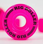 RIO ROLLER Light Up Wheel - 58x32mm/82A - Pink Frost