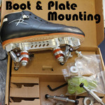 ROLLERDERBYHOUSE Boot+Plate Mounting