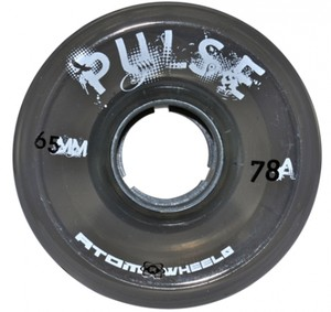 ATOM Pulse Wheel - 65x37mm/78A - black