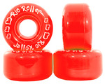 RIO ROLLER Coaster Wheel - 62x36mm/82A - Red