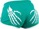 ROLLERBONES Booty Shorts green/white