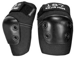 187 KILLER PADS Slim Elbow Pad - Black