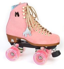 MOXI Rollerskates Lolly Strawberry
