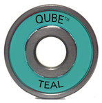 QUBE Teal ABEC 5 Bearings - 16 Pack