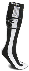 CHAYA Tube Socks Black White