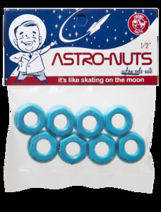 ASTRO-NUTS Nylon Axle Nuts