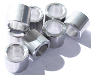 ROLL LINE 7mm Aluminium Bearing Spacer - 8 pack