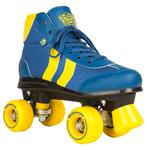ROOKIE Retro Rollerskates Blue/Yellow V2