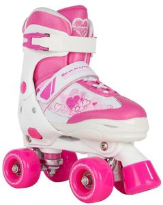 ROOKIE Rollerskates Pulse Junior White Pink