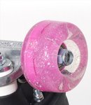 RIO ROLLER Light Up Wheel - 58x32mm/82A - Pink Glitter