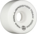 ROLLERBONES Team Logo Artistic Wheel - 62x30mm/98A - White - 8-Pack