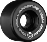 ROLLERBONES Team Logo Artistic Wheel - 57x30mm/101A - Black - 8-Pack