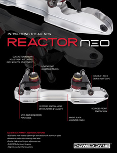 POWERDYNE Reactor Neo Plate