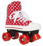 ROOKIE Rollerskates Canvas High Polka Dots